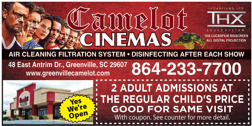 GREENVILLE CINEMAS LLC