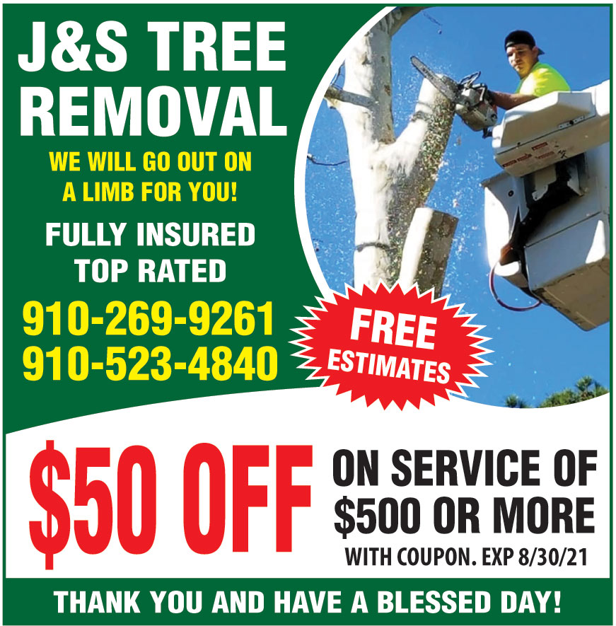 J AND S TREE REMOVAL