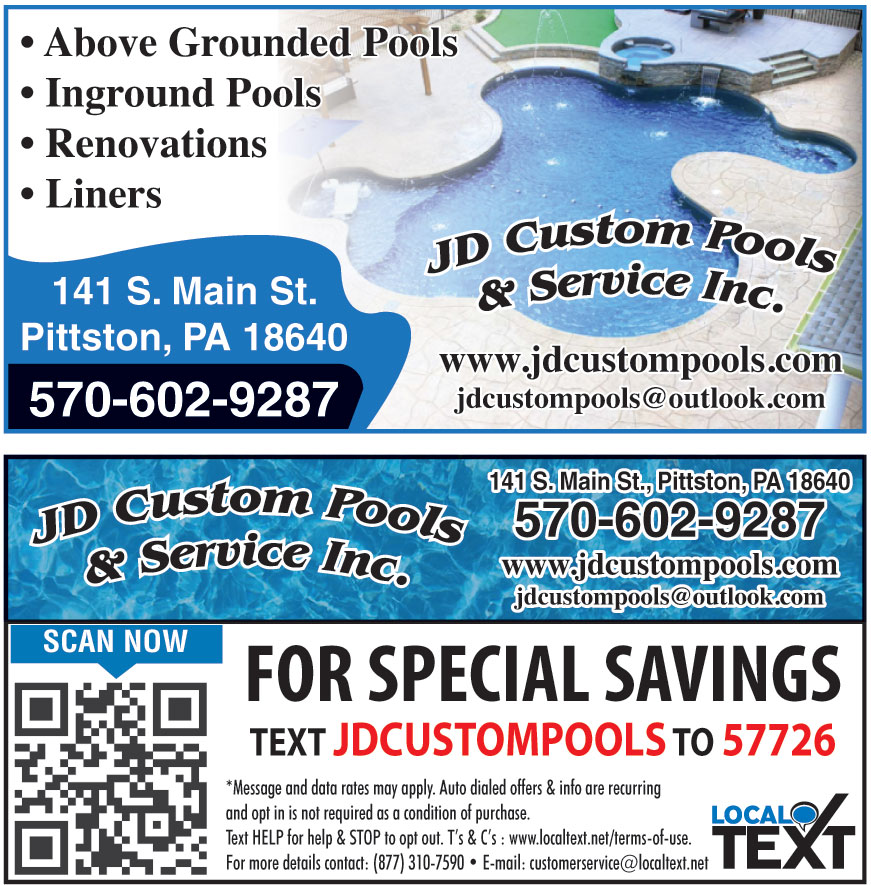 JD CUSTOM POOLS AND SERVI