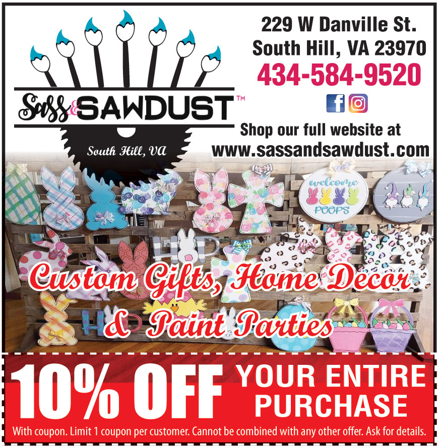 SASS AND SAWDUST