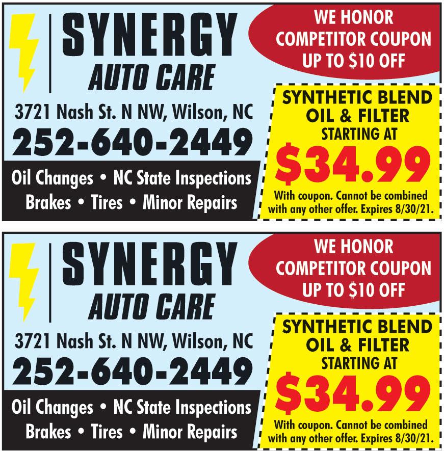 SYNERGY AUTO CARE