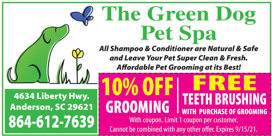 THE GREEN DOG PET SPA