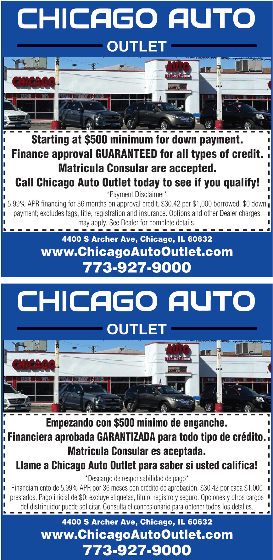 CHICAGO AUTO OUTLET