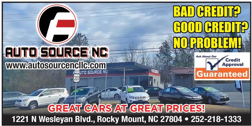 AUTO SOURCE NC LLC