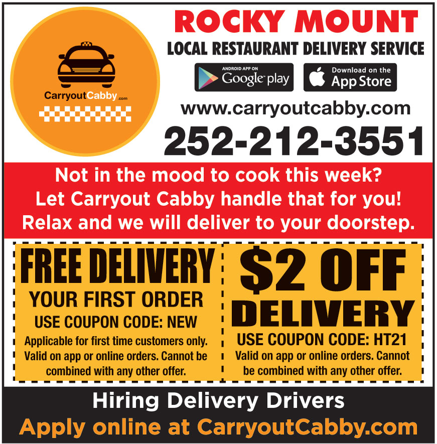 CARRY OUT CABBY