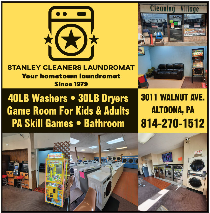 STANLEY CLEANERS LAUNDROM