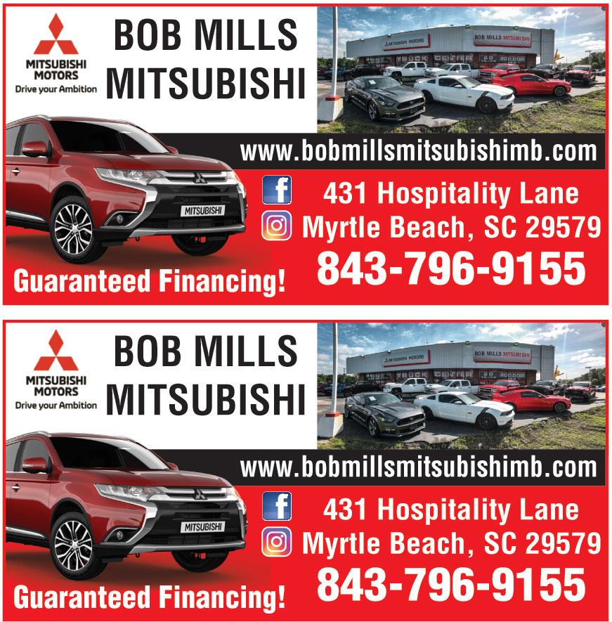 BOB MILLS MITSUBISHI