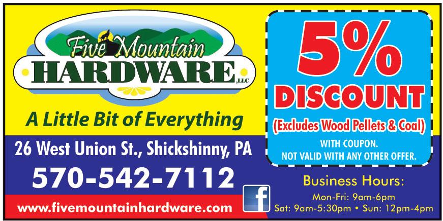 FIVE MOUNTAIN HARDWARE