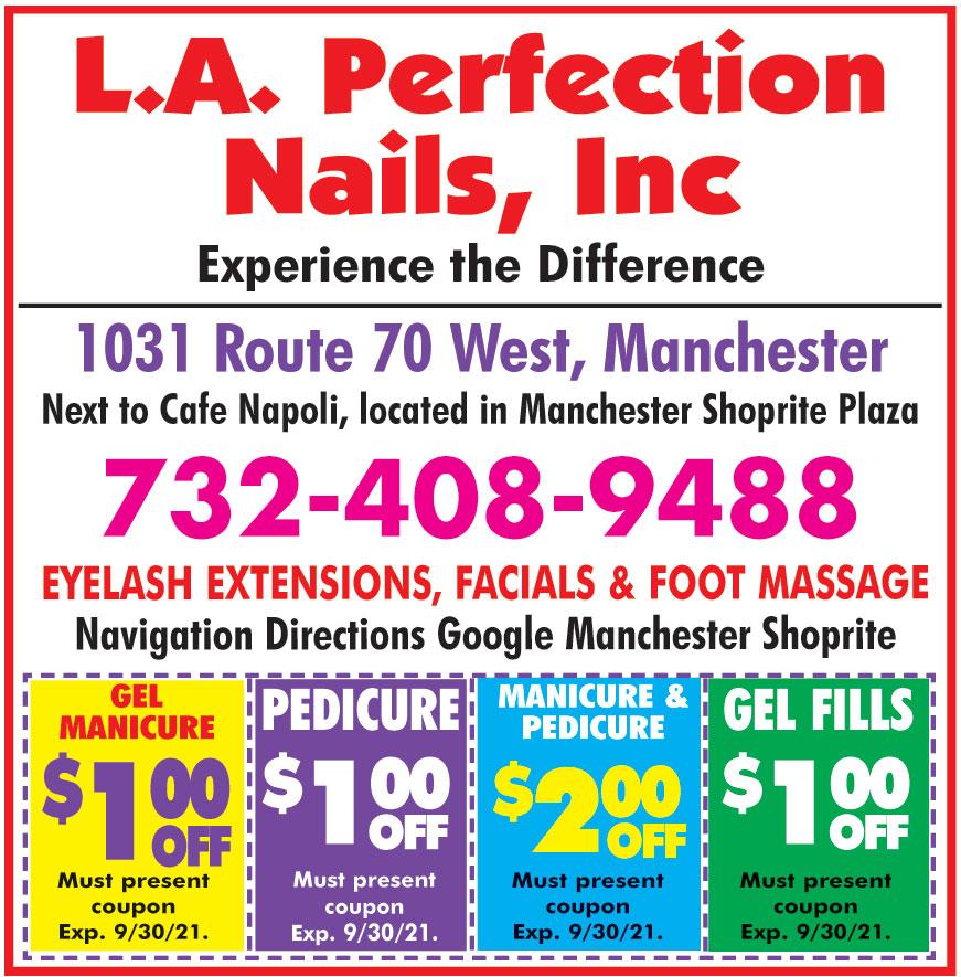 L A PERFECTION NAILS INC
