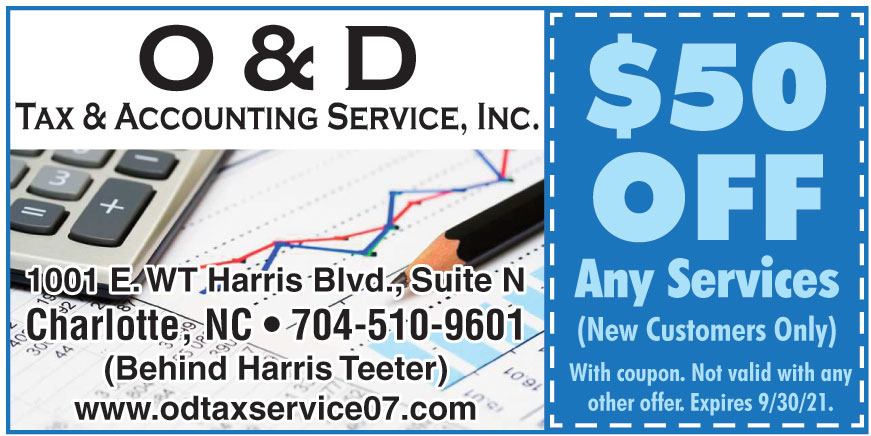O AND D TAX ACCOUNTING