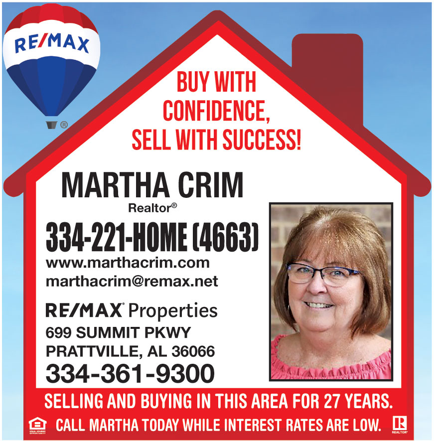 RE MAX ALABAMA MARTHA
