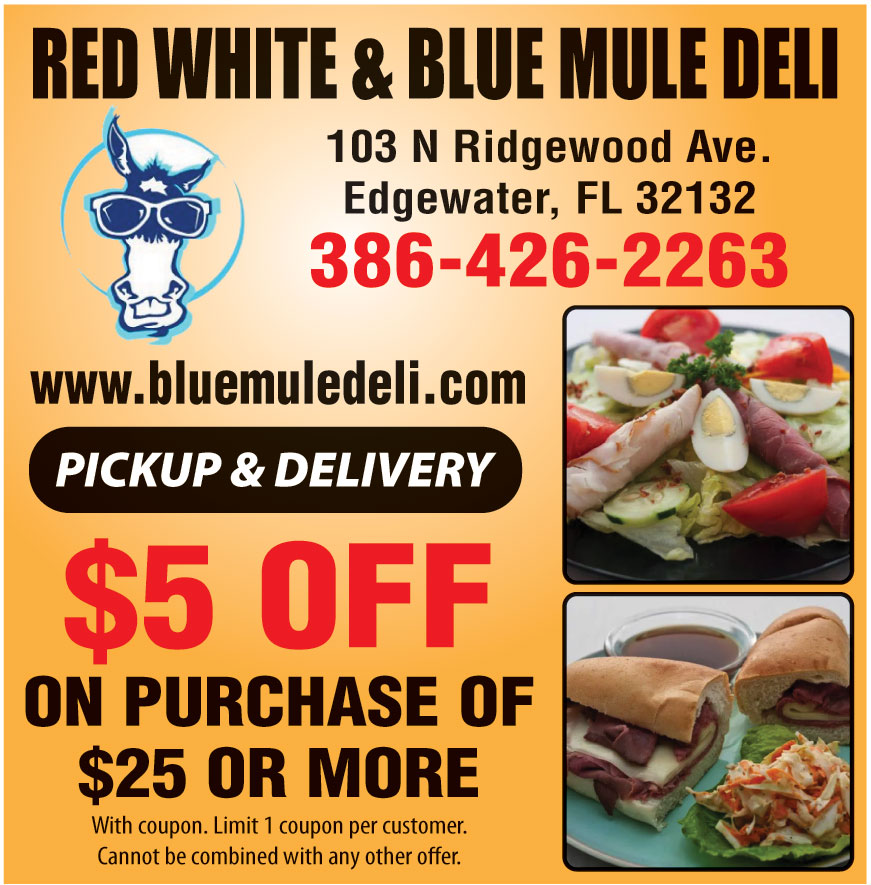 THE BLUE MULE DELI
