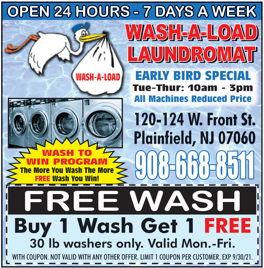 WASH A LOAD LAUNDROMAT
