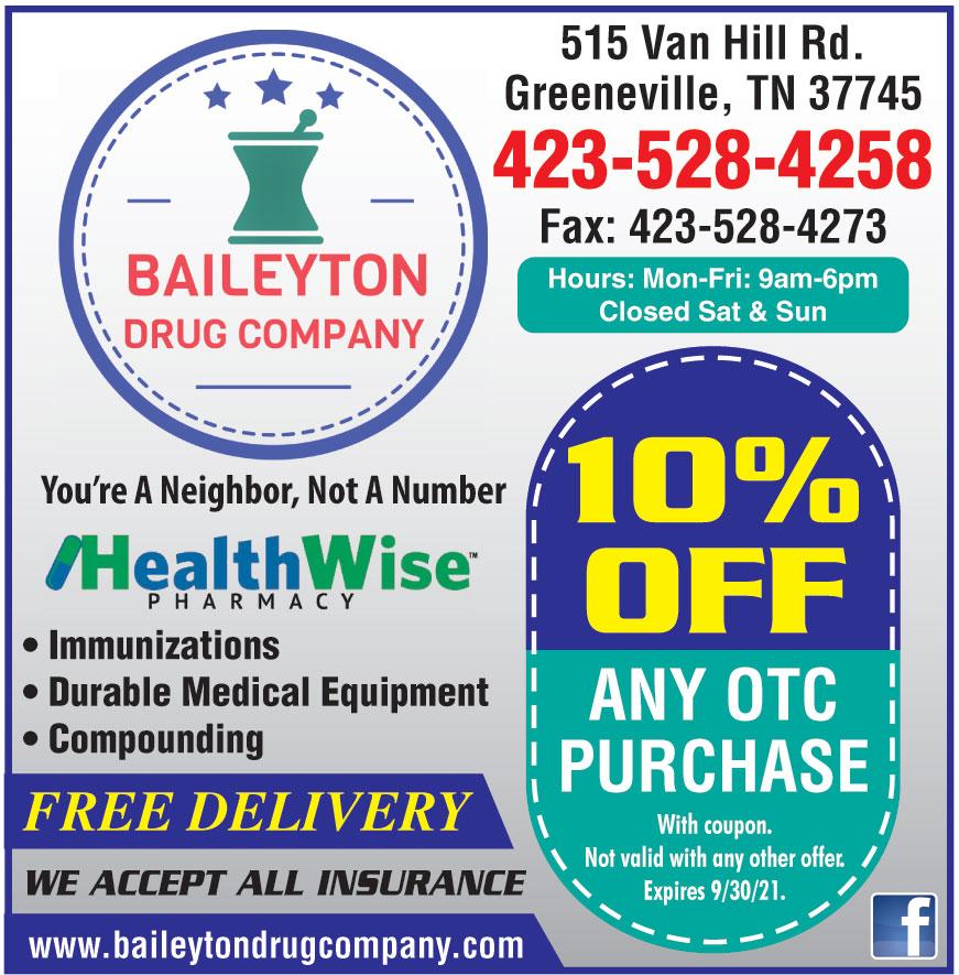 BAILEYTON DRUG COMPANY