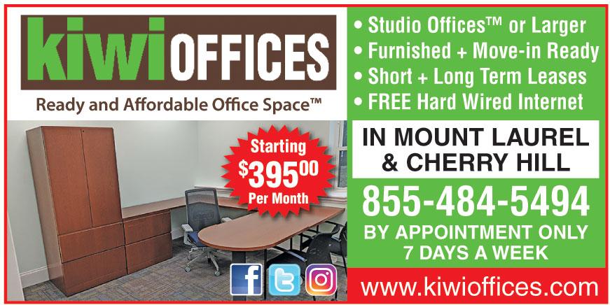 KIWI OFFICES MOUNT LAUREL
