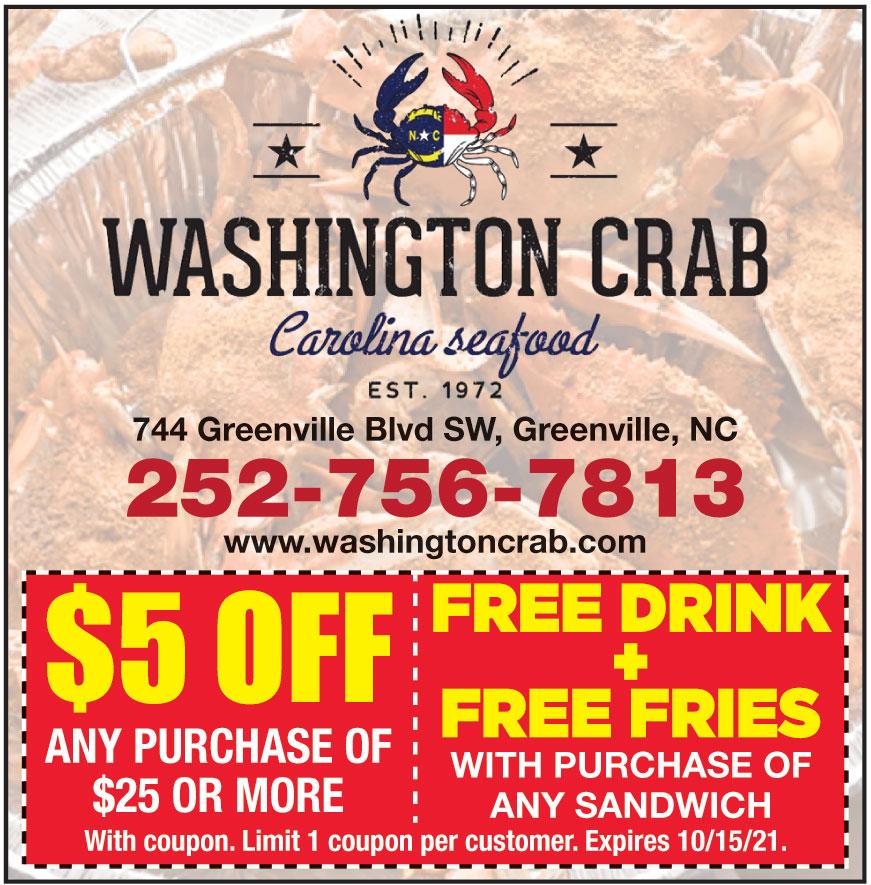 WASHINGTON CRAB