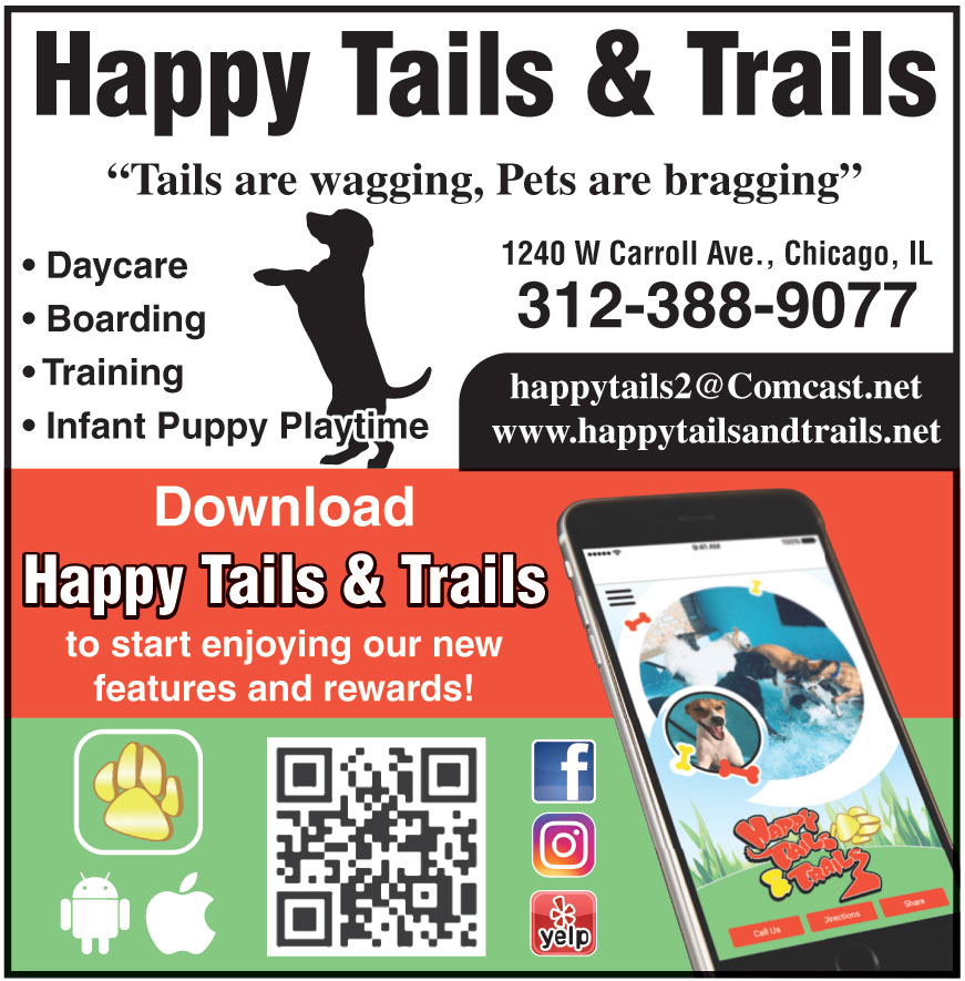 HAPPY TAILS AND TRAILS