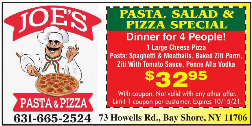 JOES PASTA AND PIZZA
