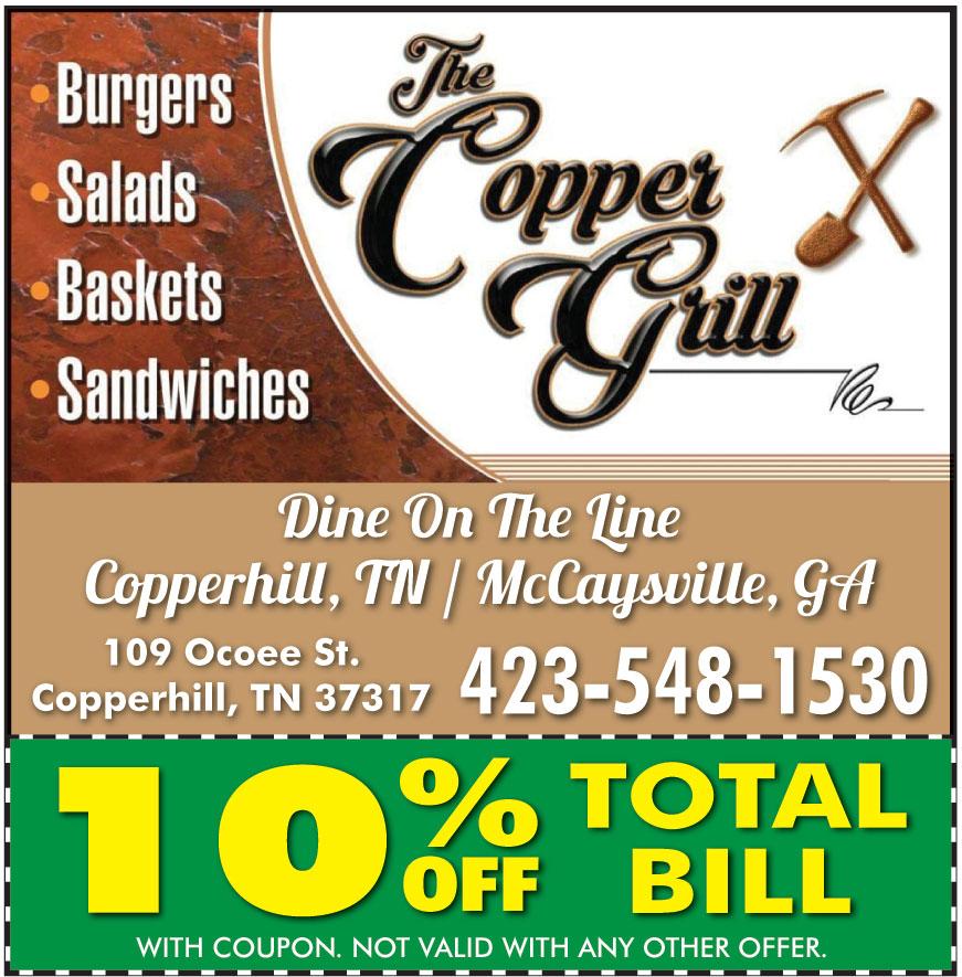 COPPER GRILL