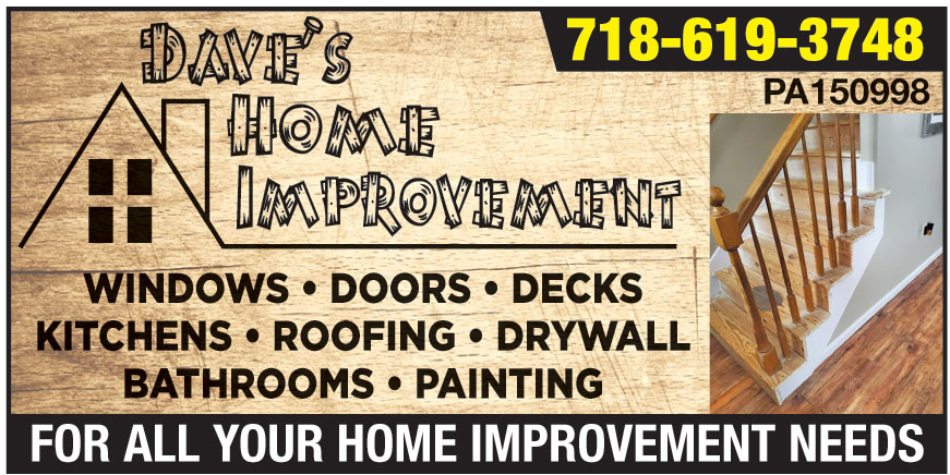 DAVES HOME IMPROVEMENTS