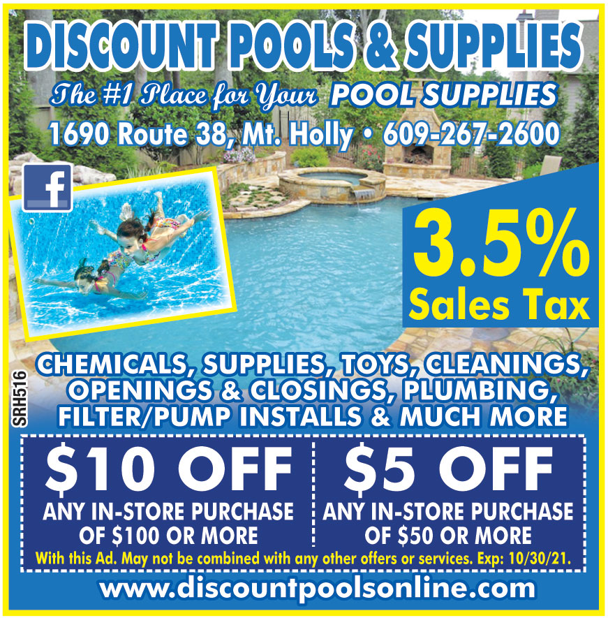DISCOUNT POOLS AND SUPPLI