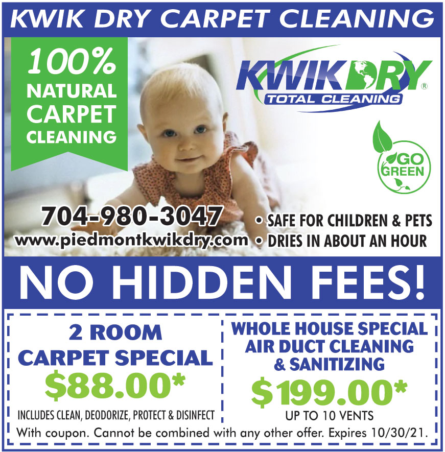 KWIK DRY TOTAL CLEANING