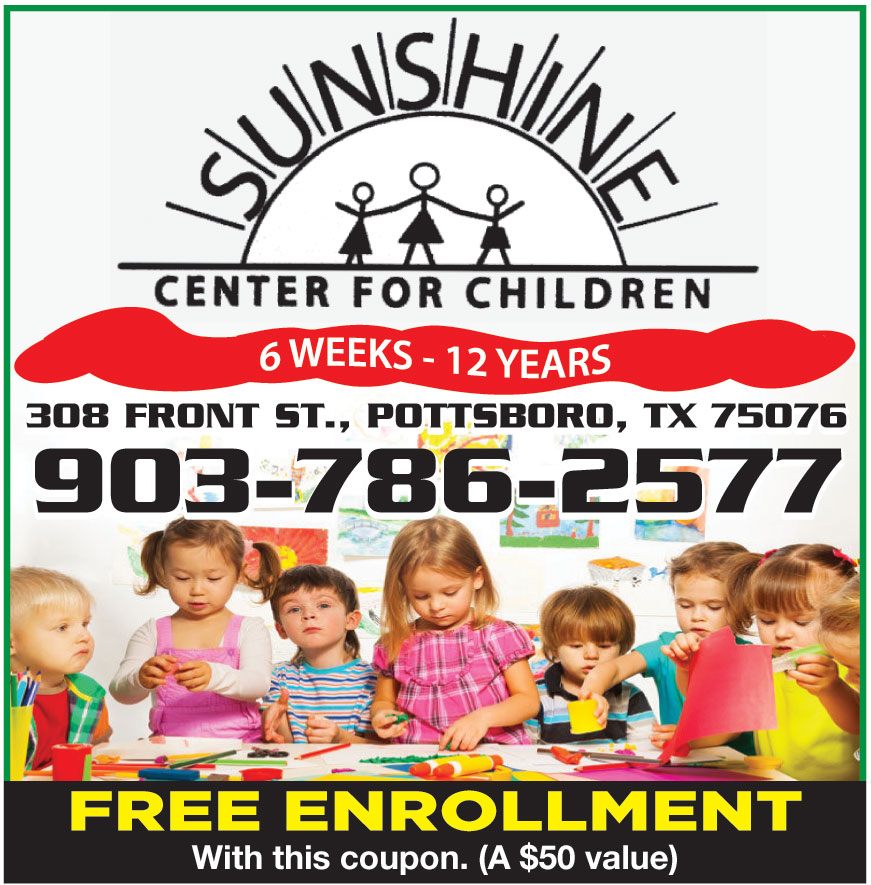 SUNSHINE CENTER FOR CHILD