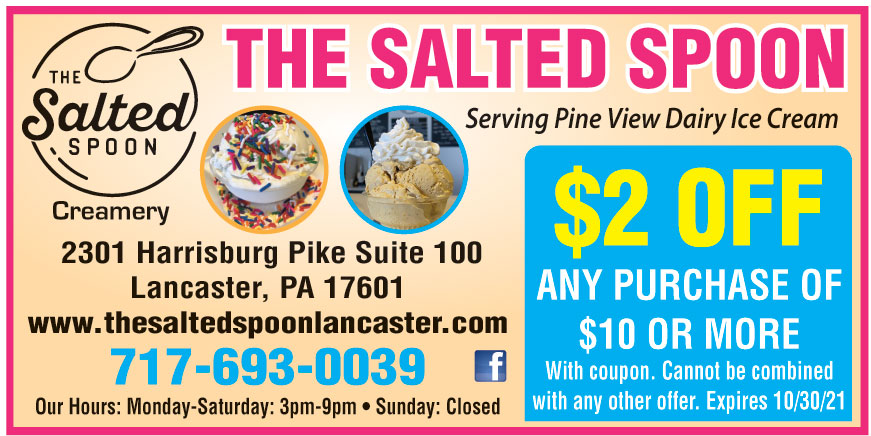 THE SALTED SPOON