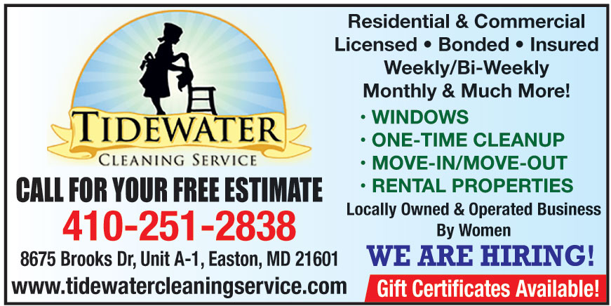 TIDEWATER CLEANING SERVIC