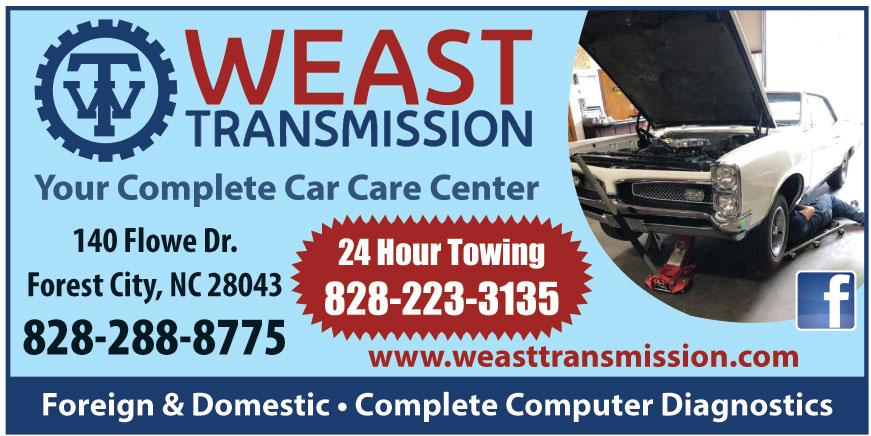 WEAST TRANSMISSION