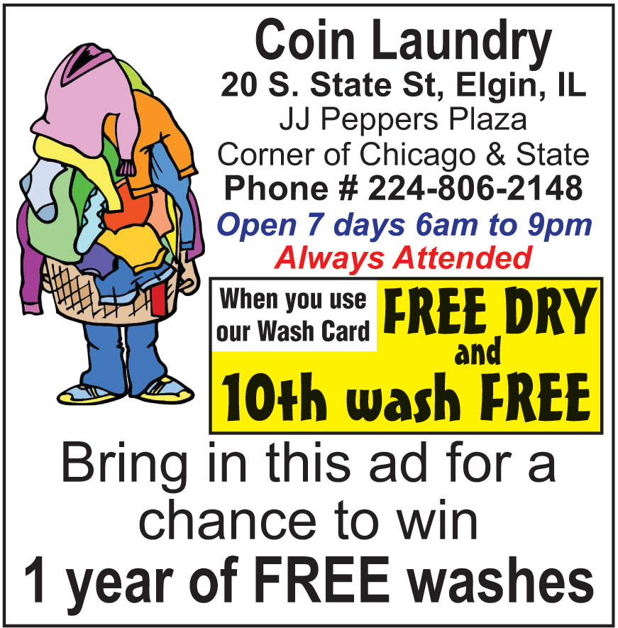 ELGIN COIN LAUNDRY AT