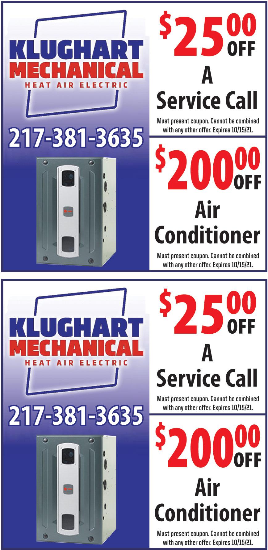 KLUGHART HEATING AND AIR