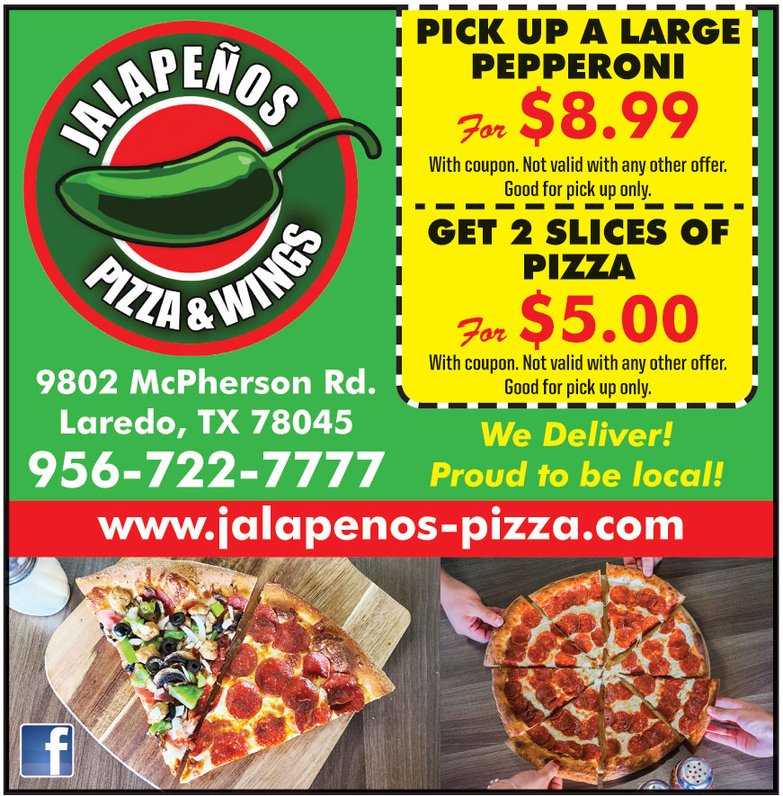 JALAPENOS PIZZA AND WINGS