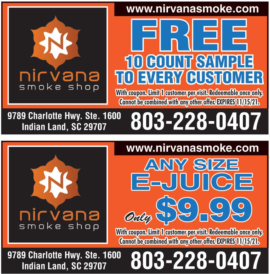 NIRVANA SMOKE SHOP