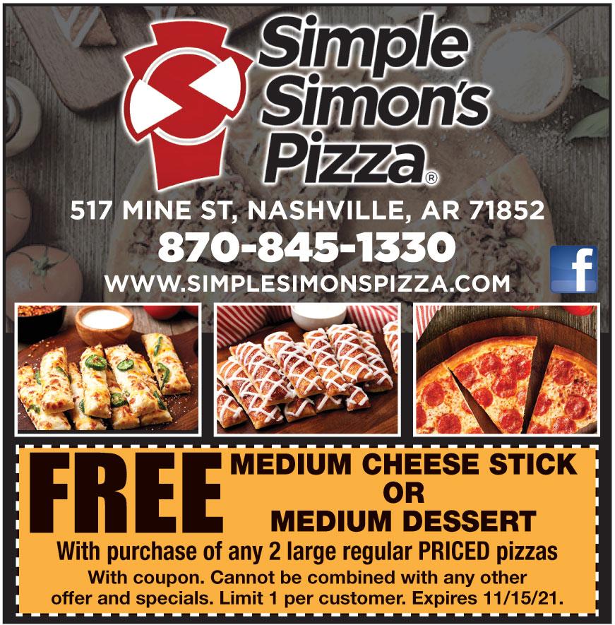 SIMPLE SIMONS PIZZA