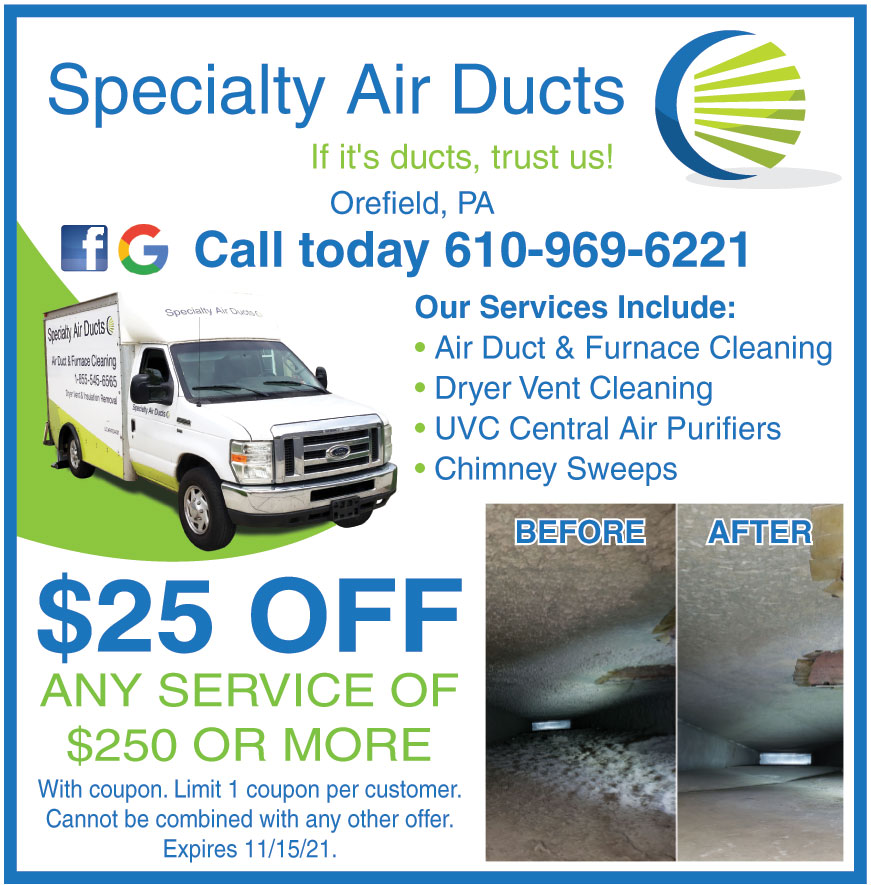 SPECIALTY AIR DUCTS