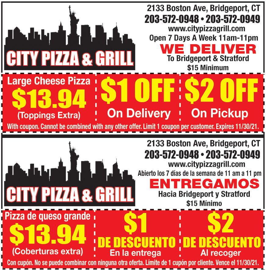 CITY PIZZA AND GRILL