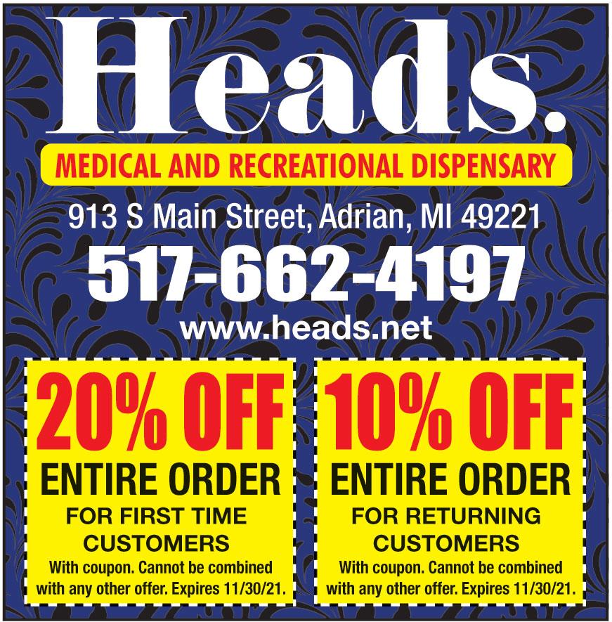 HEADS CANNABIS CO