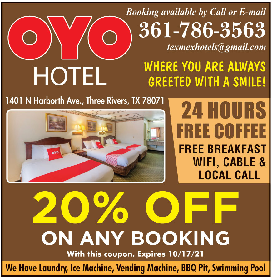OYO HOTEL THREE RIVERS