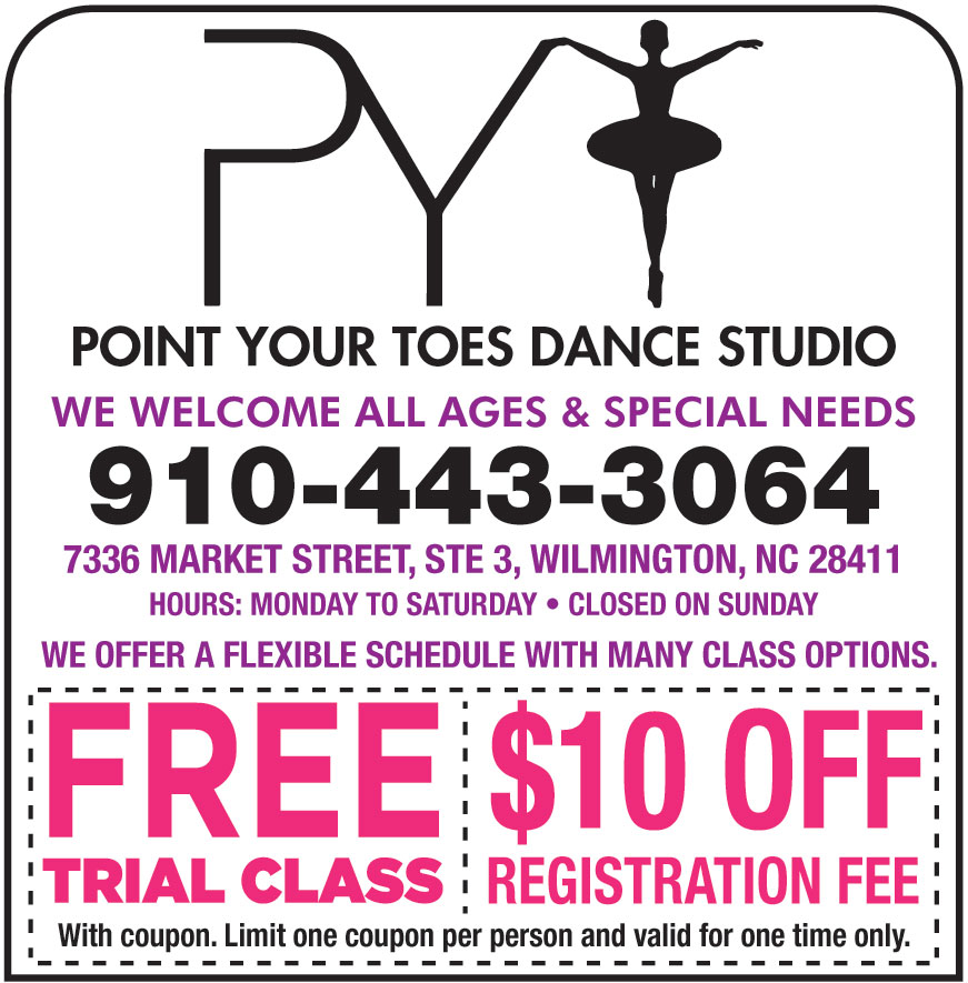 POINT YOUR TOES DANCE