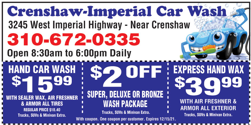 CRENSHAW IMPERIAL CAR WAS