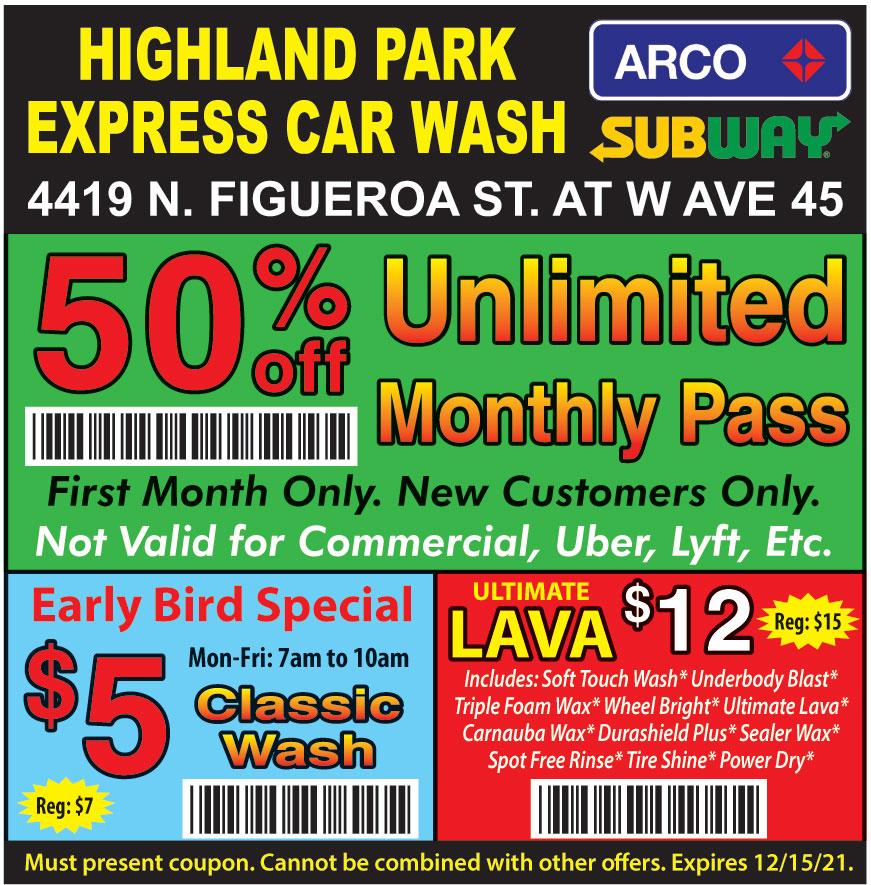 HIGHLAND PARK EXPRESS CAR
