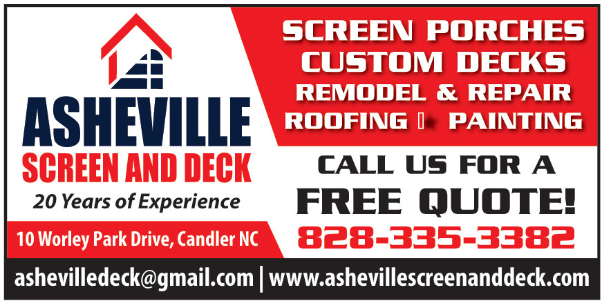 ASHEVILLE SCREEN AND DECK
