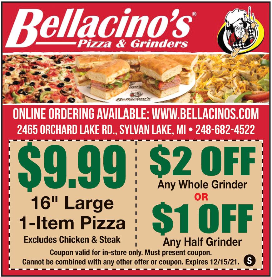 BELLACINOS PIZZA