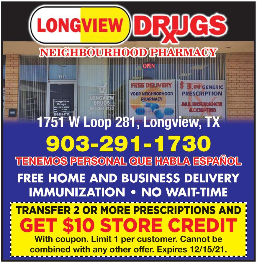 LONGVIEW DRUGS