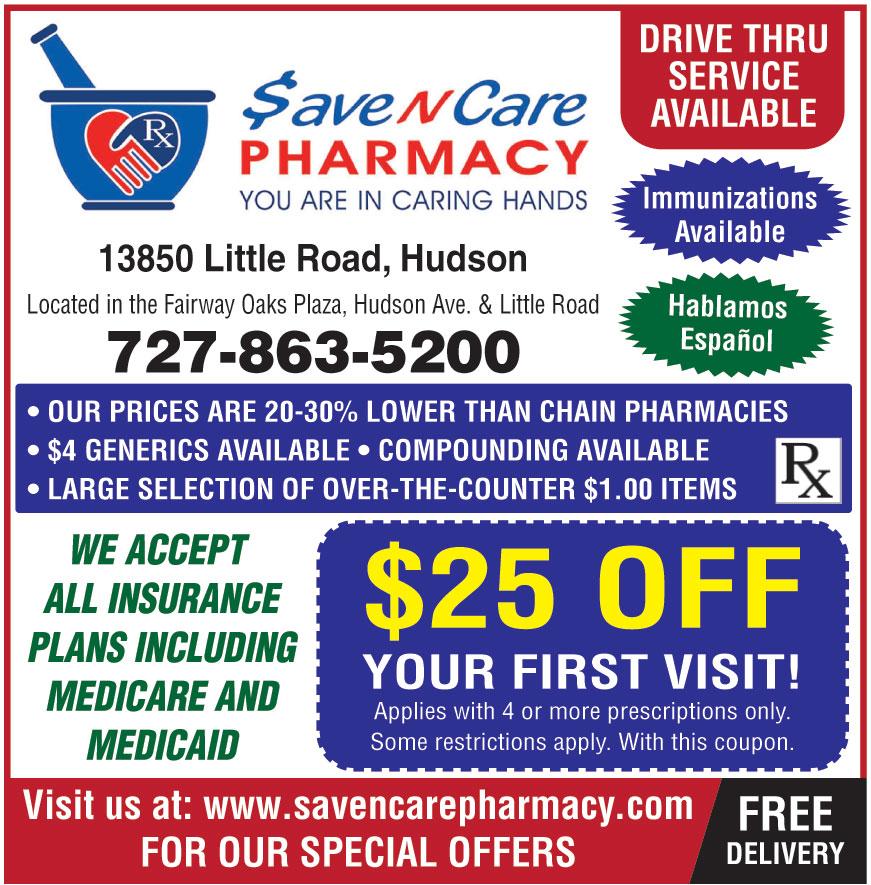SAVE N CARE PHARMACY