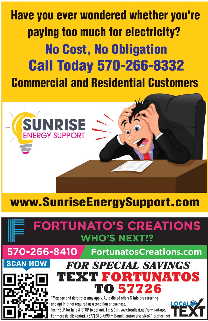 SUNRISE ENERGY SUPPORT