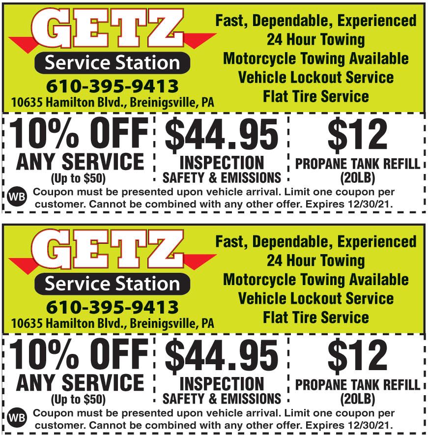 GETZ SERVICE STATION