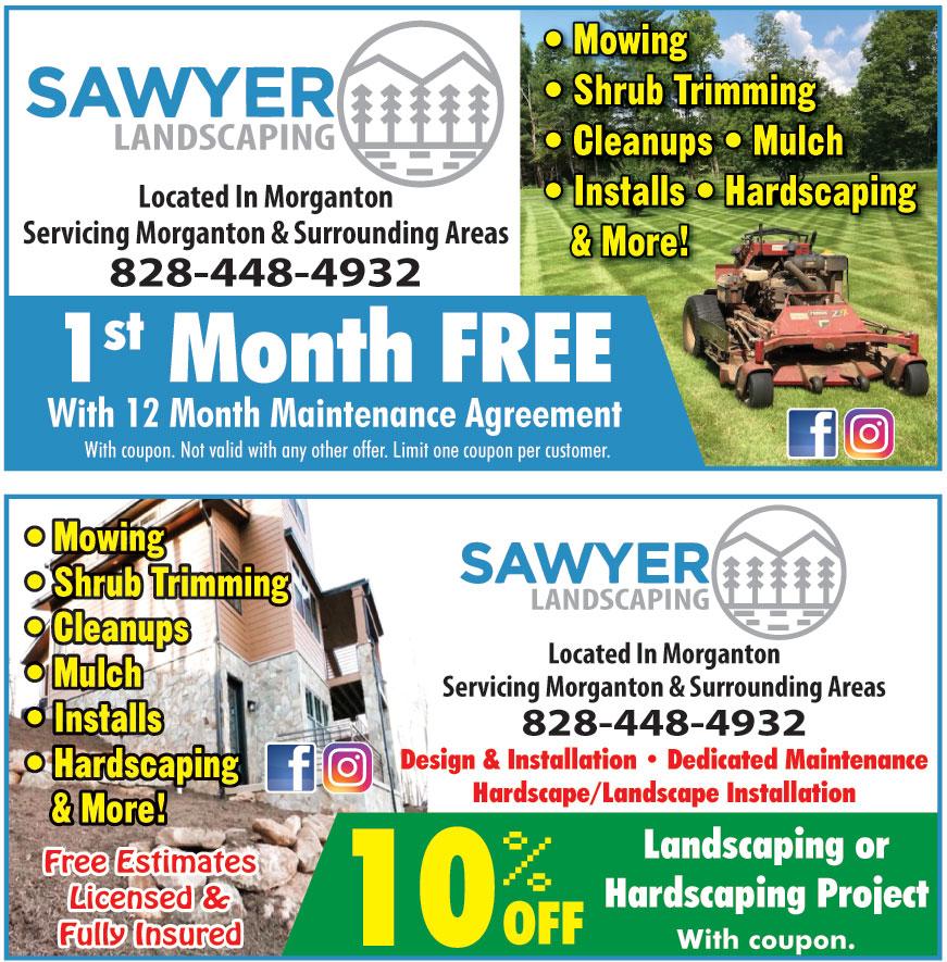 SAWYER LANDSCAPING LLC