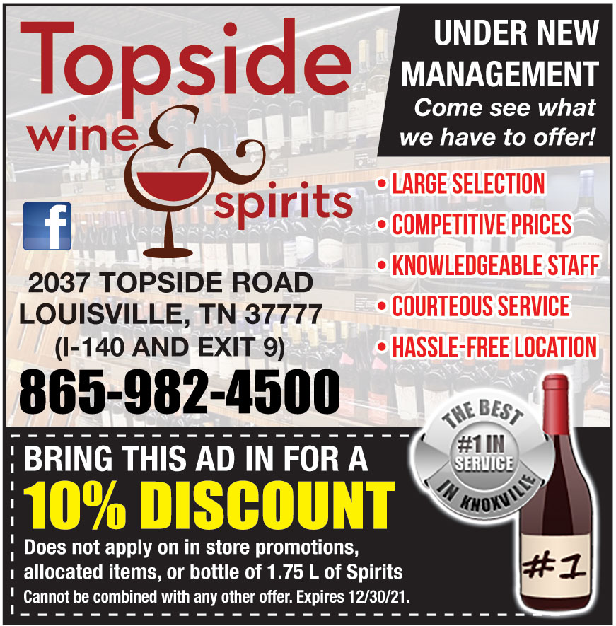 TOPSIDE WINE AND SPIRITS